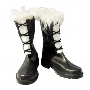 D.Gray-man Cosplay Shoes Jasdero Black Boots