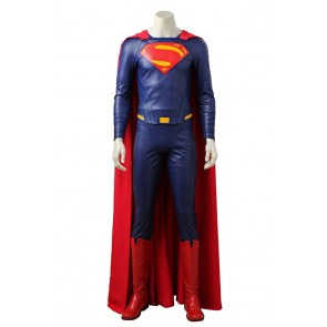 Justice League Cosplay Superman Clark Kent Costume