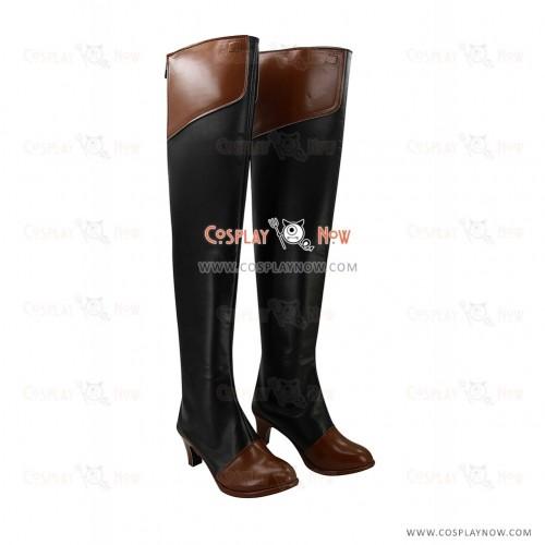Kantai Collection Cosplay Shoes Fleet Girls Kongou Boots