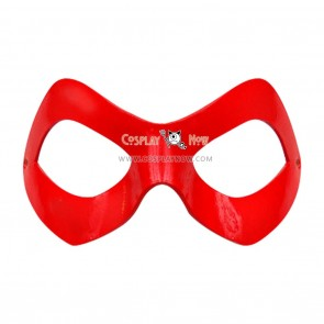 Suicide Squad Cosplay Harley Quinn Red Mask