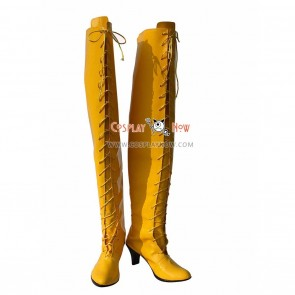 VOCALOID Snow Miku Cosplay Shoes Luka Boots