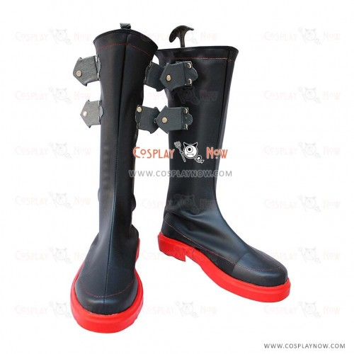 The King of Fighters Cosplay Shoes Ash Crimson Boots