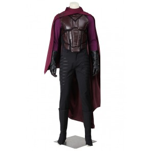 X-Men Days of Future Past Cosplay Erik Lehnsherr Magneto Costume