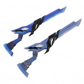 Elsword Cosplay Demonio Props with Swords