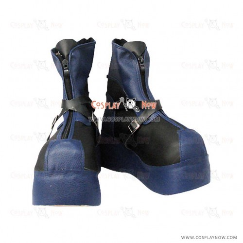 Kingdom Hearts Dark Sora Cosplay Shoes