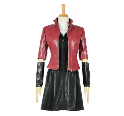 Avengers: Age Of Ultron Cosplay Wanda Maximoff Scarlet Witch Costume
