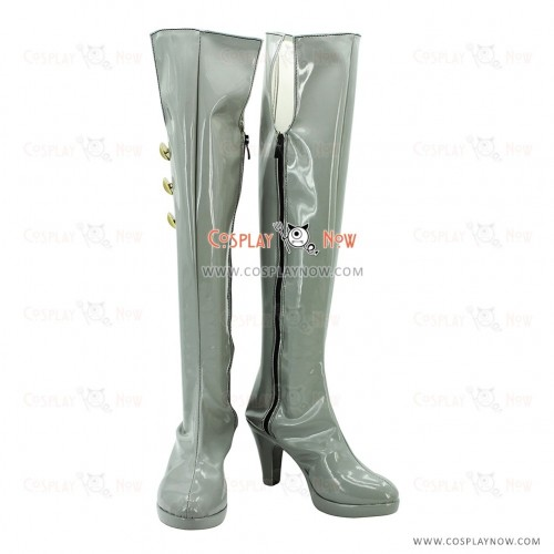 Macross Frontier Cosplay Shoes Sheryl Nome Long Boots