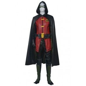 Robin Timothy Jackson Tim Drake Costume For Young Justice Cosplay