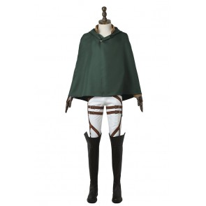 Attack On Titan Cosplay Stationed Corps Costume