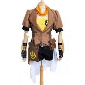 Yellow Trailer Yang Xiao Long Costume For RWBY Cosplay