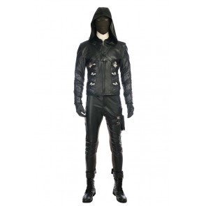 DC Green Arrow Season 5 Prometheus Adrian Chase Cosplay Costume