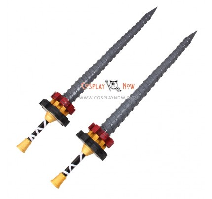 Final Fantasy Type-0 Machina Double Swords PVC Cosplay Props