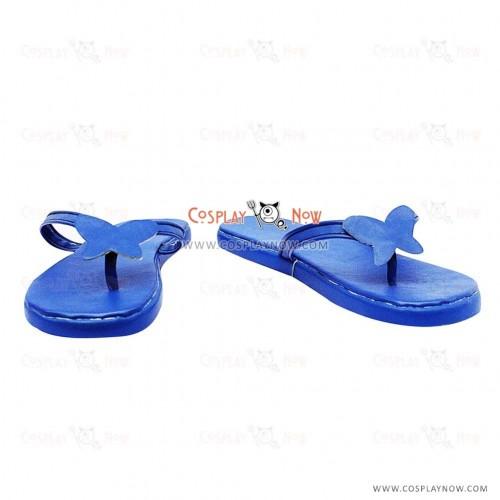 Touhou Project Yuyuko Saigyouji Cosplay Shoes/Slippers