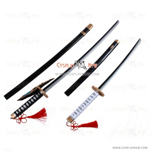Sengoku Night Blood Cosplay Date Masamune props with swords