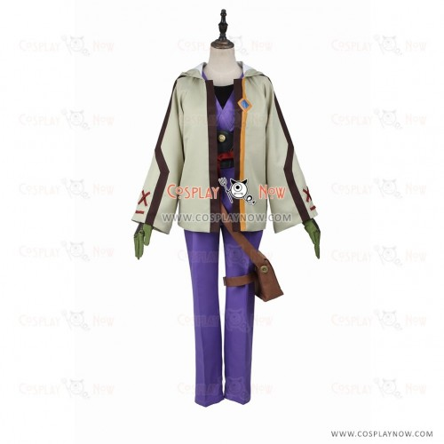 Kabaneri of the Iron Fortress Cosplay Ikoma Costume