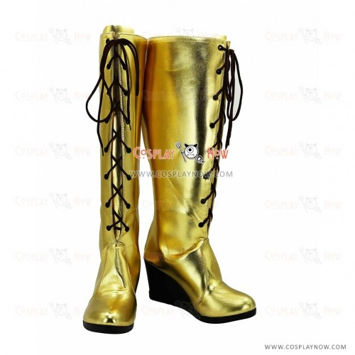 Vocaloid 3 Lin Cosplay Boots