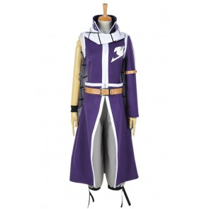 Fairy Tail Cosplay Natsu Dragneel Purple Costume