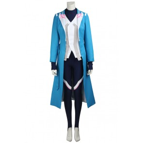 Female Blue Costume For Pokemon GO Cosplay Uniform