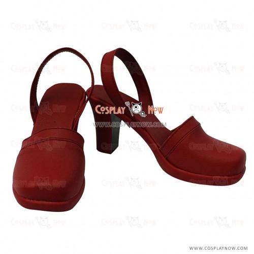 Yu-Gi-Oh! Cosplay Izayoi Aki Hight Heel Cosplay Shoes