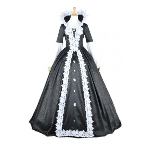 Once Upon A Time Evil Snow White Dress Cosplay Costume