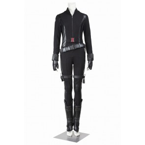 Captain America 2 Cosplay Black Widow Costume