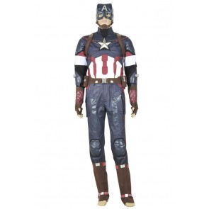 Avengers: Age Of Ultron Captain America Cosplay Costume