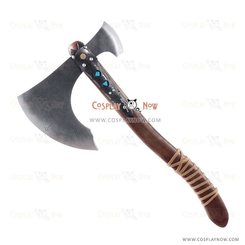 God Of War Kratos Cosplay Axe Hammer Props Arms Halloween Party Replica Xcoser