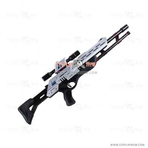 Mass Effect Cosplay PUBG Player props with gun