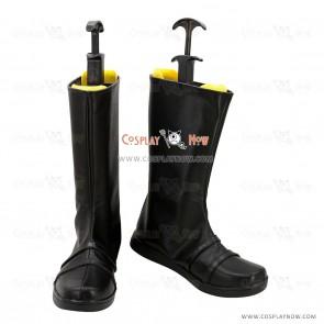 InuYasha Cosplay Shoes Sesshoumaru Black Boots