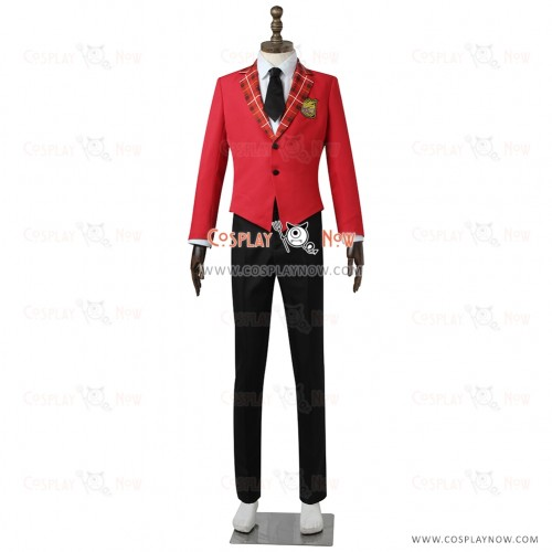 The Idolmaster SideM High×Joker Cosplay Fuyumi Jun Costume Uniform