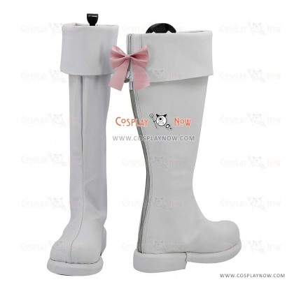 AKB0048 Cosplay Shoes Center Nova Chieri Sono White Boots