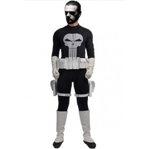 Frank Castle Costume For Punisher Cosplay