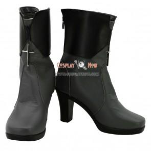 Unlight Cosplay Shoes GrandGuignol Sheri Female Hight Heel Boots