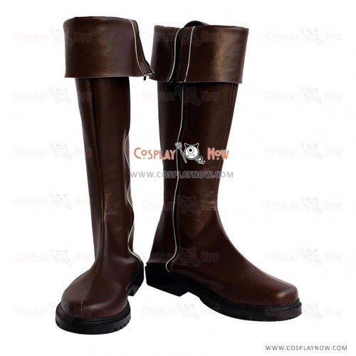 Hellsing Cosplay Shoes Alucard Boots