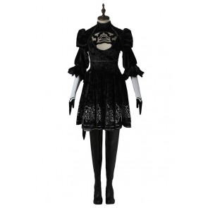 2B Costume For Nier Automata Cosplay Uniform