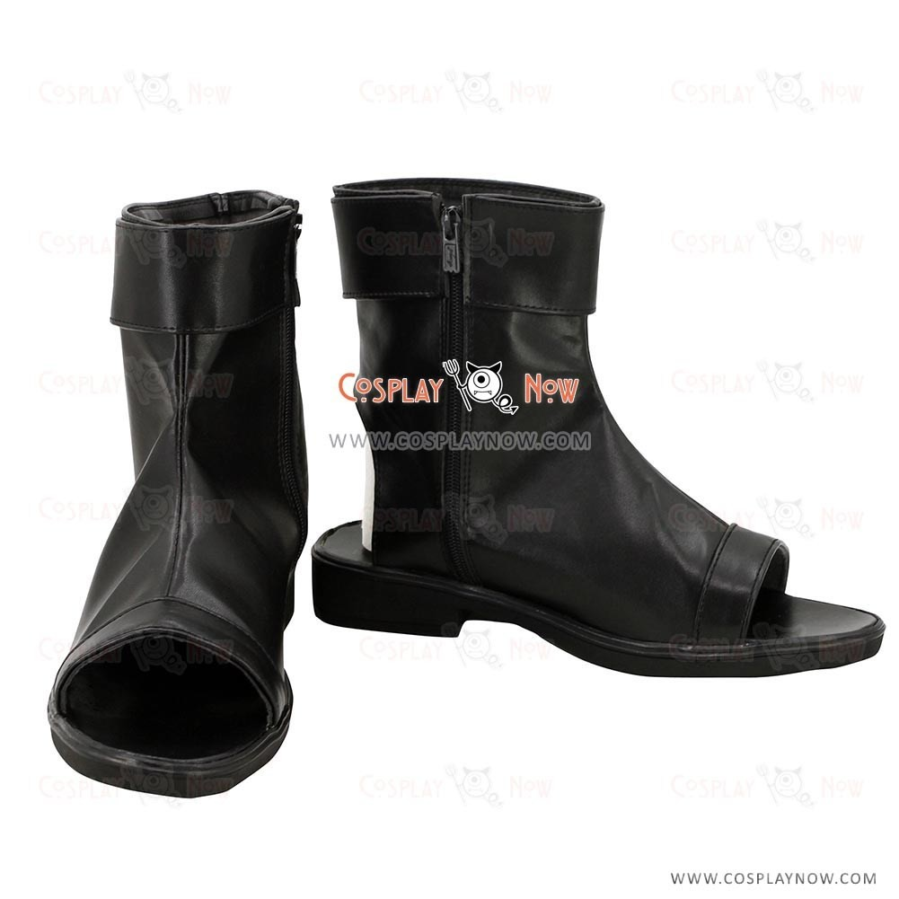 9f20d6b30a2b2 Naruto Cosplay Orochimaru Black Cosplay Ninja Shoes