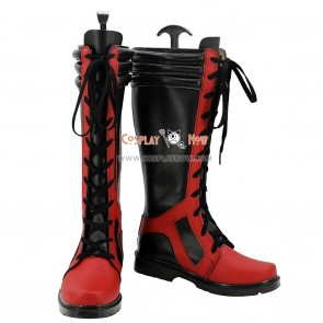 Deadpool Cosplay Shoes for Man