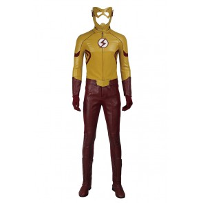 The Flash Season 3 Cosplay Kid Flash Costume