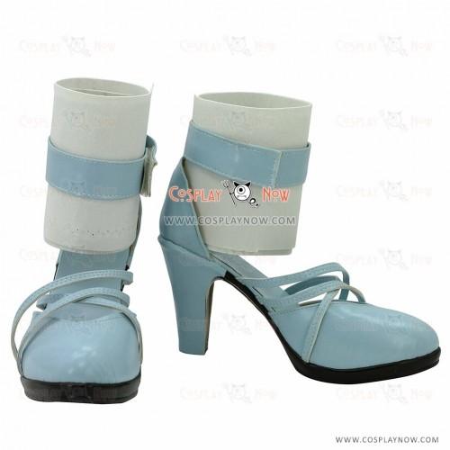 Macross Frontier-Itsuwari no Utahime Cosplay Shoes