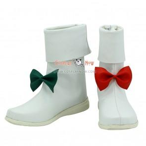 Touhou Project Cosplay Shoes Hata no Kokoro Boots
