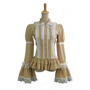 Victorian Lolita Reenactment Theatre Blouse Gothic Lolita Dress
