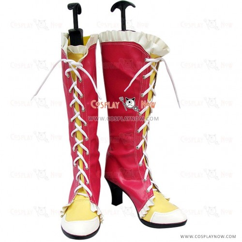 Tekken 5 Cosplay Shoes Ling Xiaoyu Boots