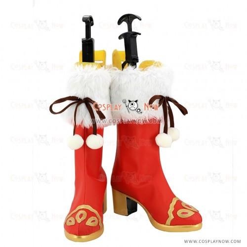 Love Live Sunshine Cosplay Shoes Riko Sakurauchi Boots
