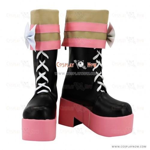 Dangan Ronpa Cosplay Shoes Kotoko Utsugi Boots