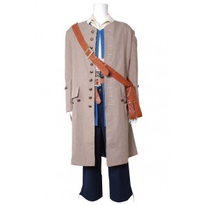 Pirates Of The Caribbean Cosplay Captain Jack Sparrow Costume