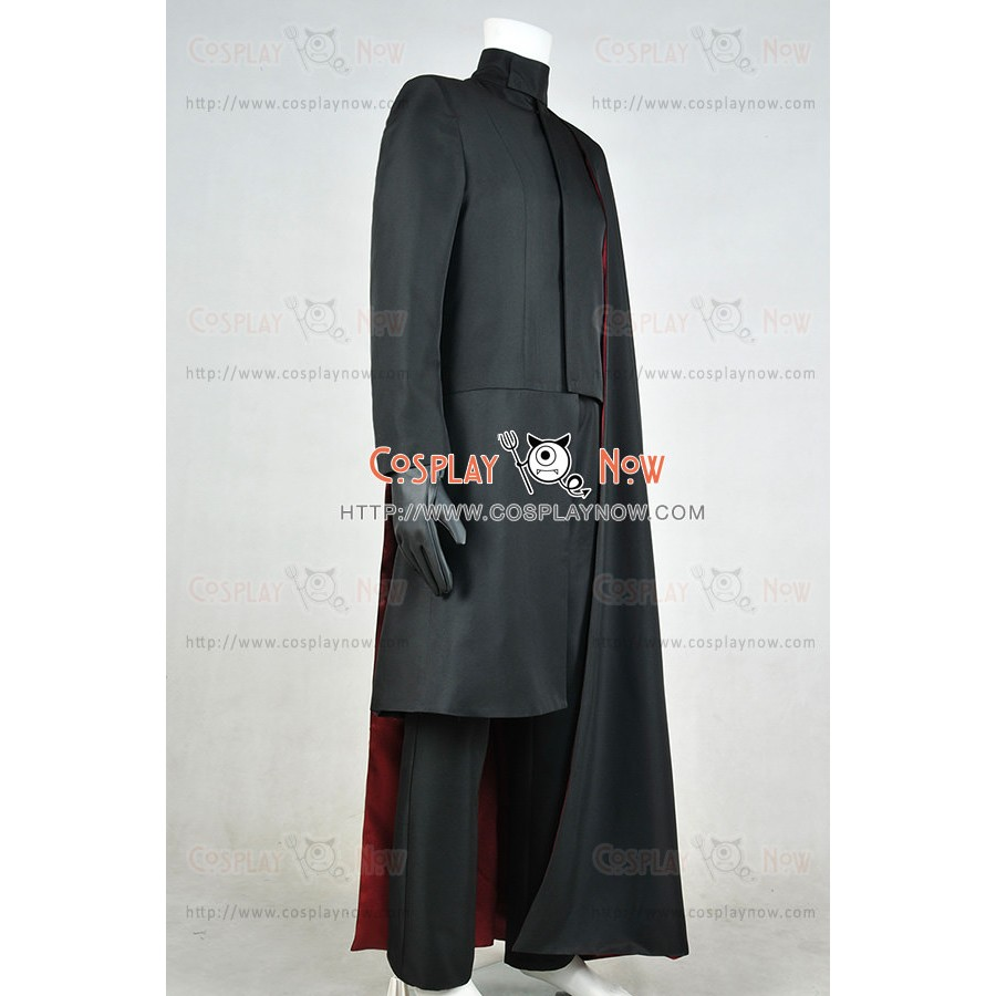 X-Men 2000 Film Magneto Cosplay Costume Full Set Outfit