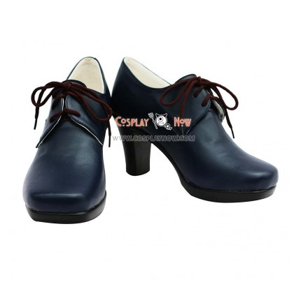 Tiger & Bunny Yuri Petrov/Lunatic Female Hight Heel Cosplay Shoes