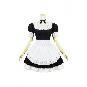 Fate Stay Night Cosplay Saber Maid Dress Costume