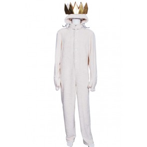 Where the Wild Things Are Wolf Max Records Cosplay Costume