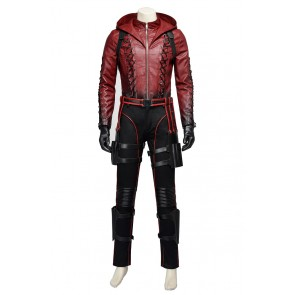 Red Arrow Roy Harper Costume For Green Arrow Season 3 Cosplay